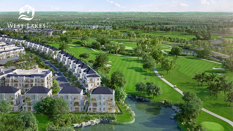 West Lakes Golf & Villas: Trải nghiệm biệt thự sân golf hạng sang