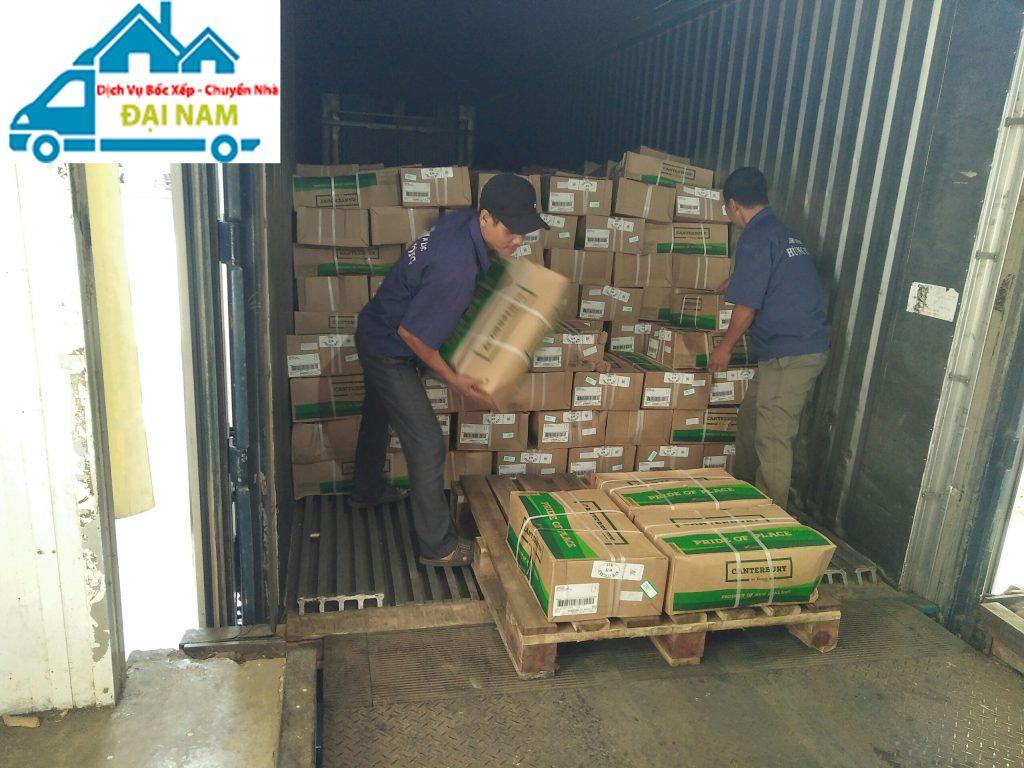 Dịch vụ bốc xếp hàng hóa thủ công uy tín tại Tphcm
